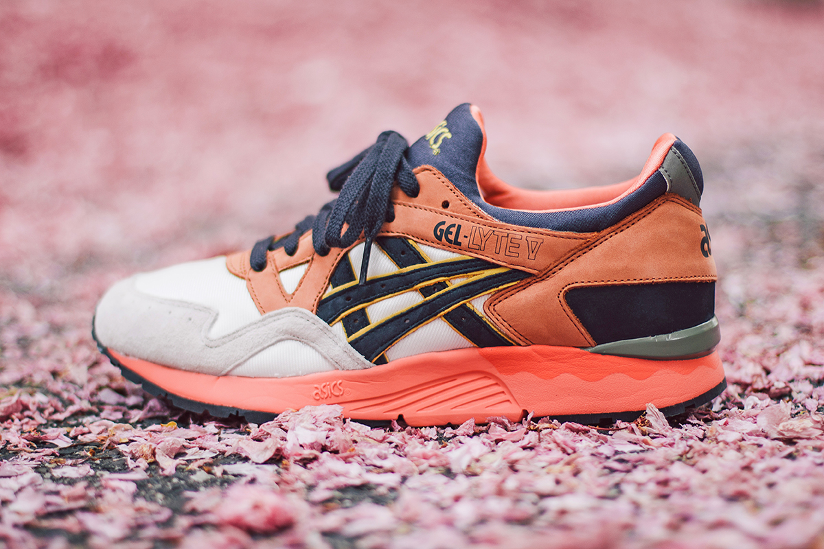 asics gel lyte 5 midnight bloom