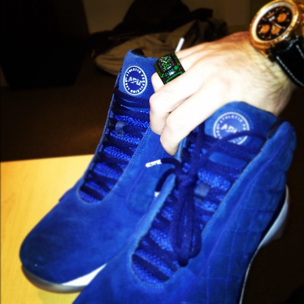 Athletic Propulsion Labs Concours - Blue Suede Exclusive
