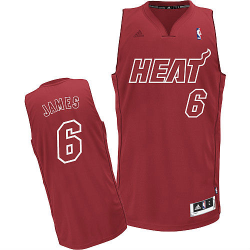 adidas BIG Color NBA Christmas Day Uniforms Miami Heat