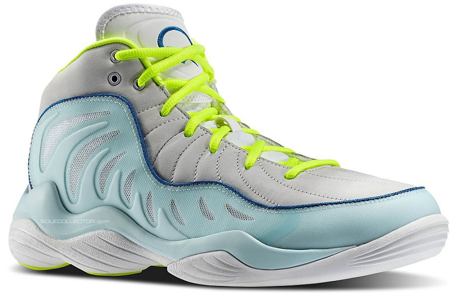 Reebok Answer XIV 14 Grey/Teal-Neon (1)