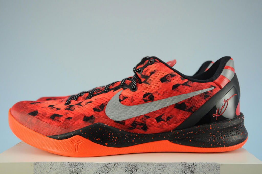 8beee508391 ... Red Reflective Silver-Team Orange-Electro Orange  150.00. Nike Kobe 8  System Challenge Red 555035-600 (2)