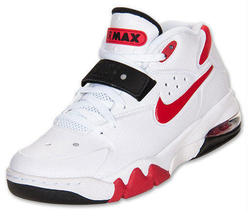 Nike Air Force Max 2013 White University Red Black 555105-100 (2)