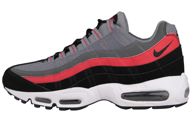 ... discount the cool grey black university red nike air max 95 is now  available via select 98622bb9f