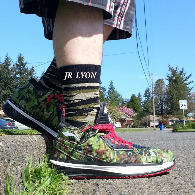 Spotlight: Forum Staff Weekly WDYWT? - 4.20.14 - jr_lyon wearing Li-Ning Way of Wade 2 Jungle Camo
