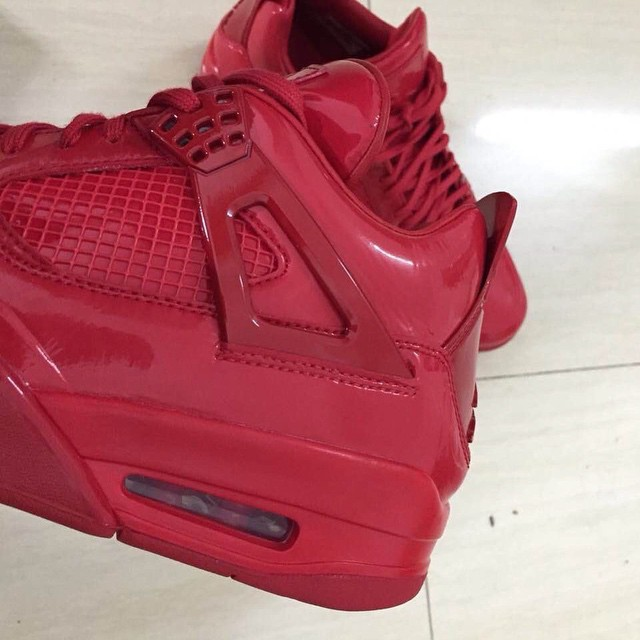Air Jordan 11Lab4 Red 719864-600 (3)