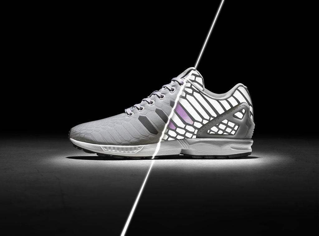 new style f05ff 188d3 The 'Xeno' adidas ZX Flux Turns Silver | Sole Collector
