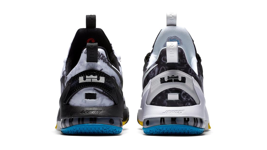 6c11335c64cb Nike LeBron 13 Low LeBron James Foundation Graffiti Heels 849783-999