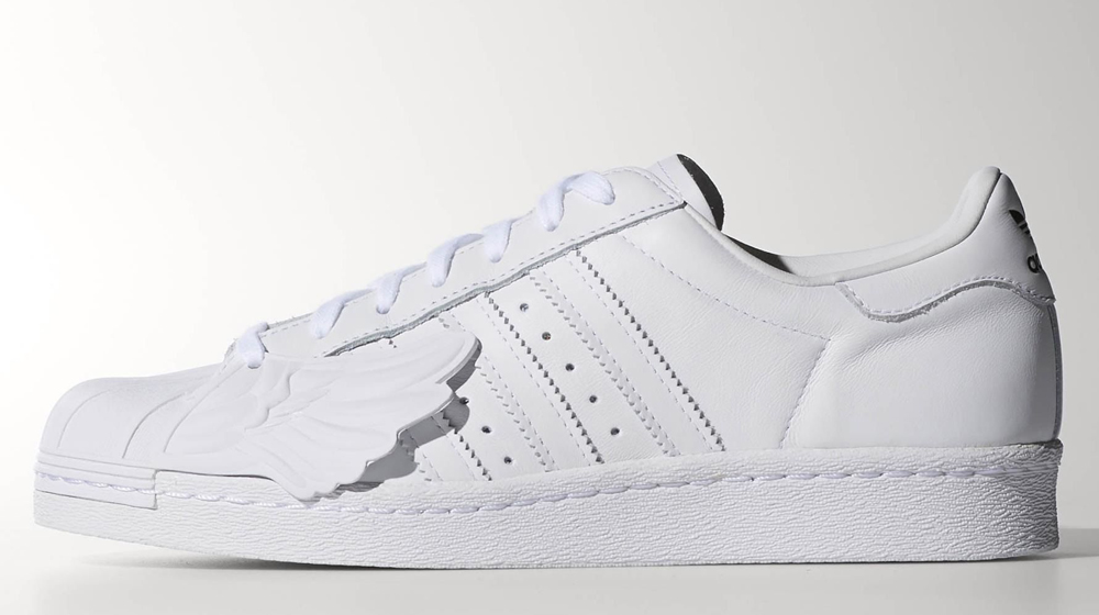 buy popular 9999c 69b4f Jeremy Scott Gets in on adidas Superstar Collabs. A reminder of who was  first on the winged sneaker ...