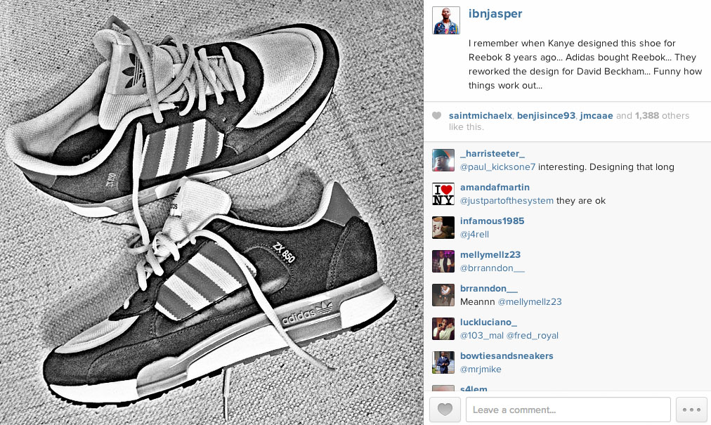 7387d8d2e0aa ... cheap ibn jasper says kanye west designed the adidas zx 850 for reebok  in 2006 1 ...