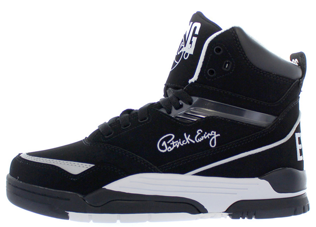 buy online 3c010 bcef3 Ewing Athletics Ewing Center Hi 1EW90105-018 Black White