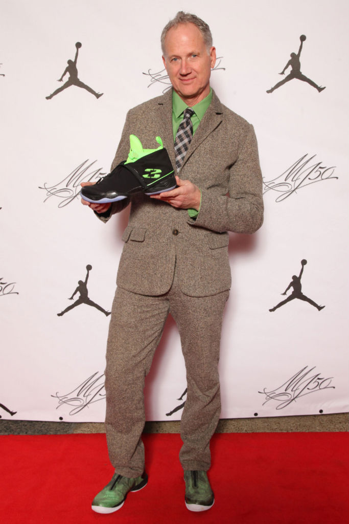 A History Of Tinker Hatfield Wearing Air Jordans  7ce2421331