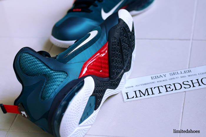 brand new d19fa 09bf2 Nike LeBron 9 Swingman Green Abyss 469764-300 (6)
