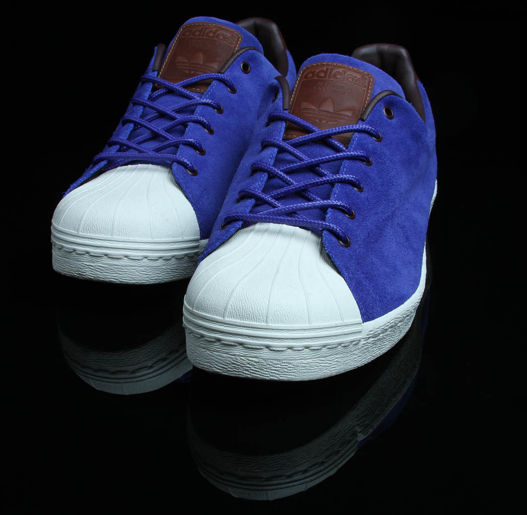 adidas original superstar 80s deepblue