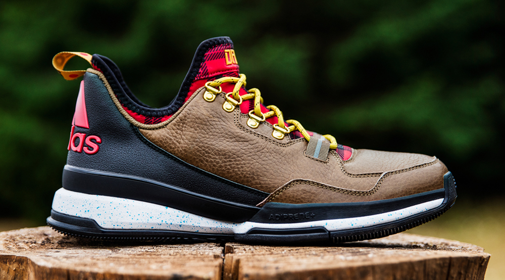 adidas D Lillard Forestry Sneakers