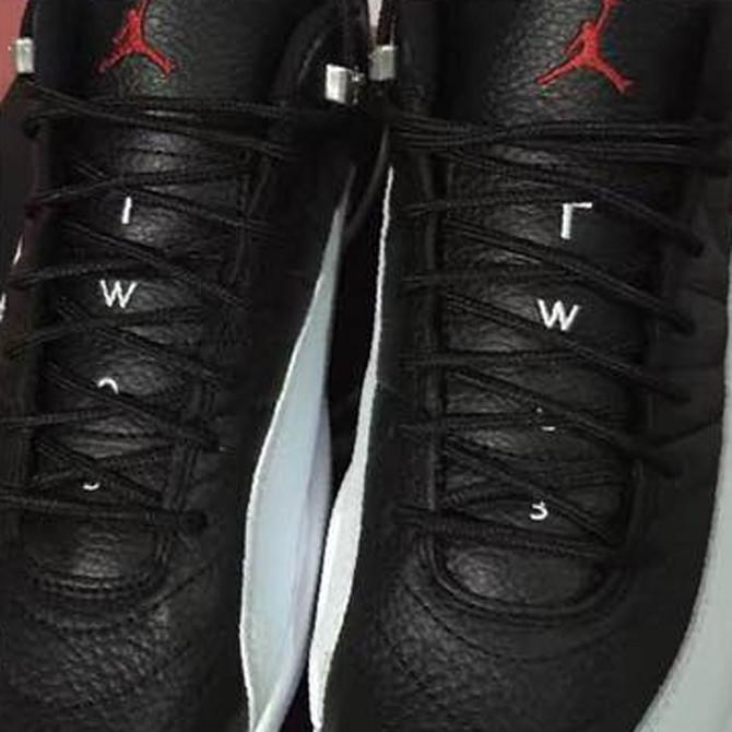 Air Jordan 12 Low Playoffs Tongue