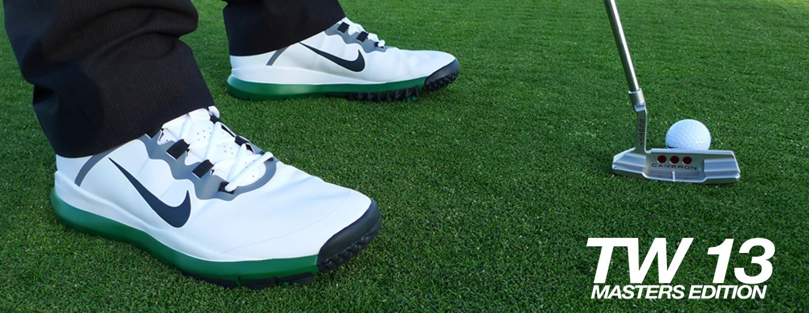 A closer look at Tiger Woods s signature golf shoe in a limited edition  colorway. 8ca54d488989