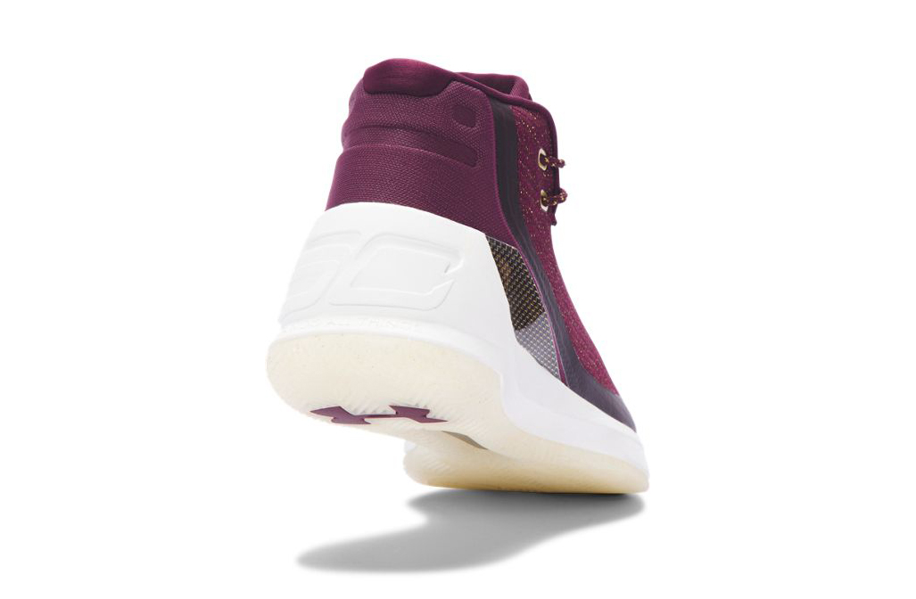 Under Armour Curry 3 Magi Christmas Heel