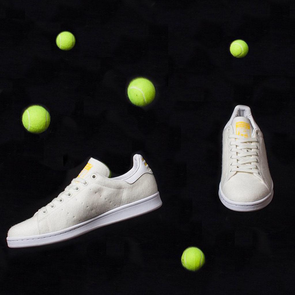 best service 9a778 febd4 First Look at the Pharrell x adidas Originals Stan Smith 'Tennis' Pack