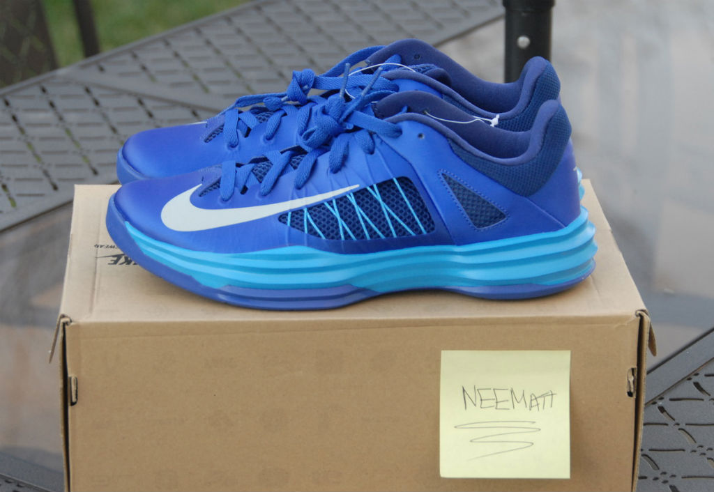 detailed look 01bd8 b93c7 Nike Lunar Hyperdunk 2012 Low Blue 554671-401 (1)