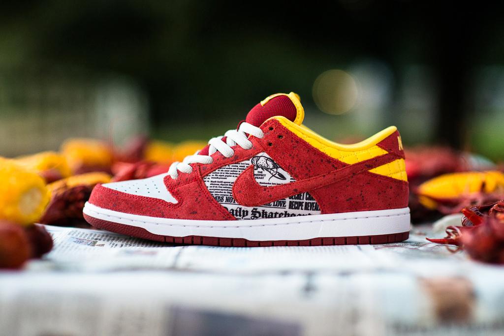 Rukus x Nike SB Dunk Low 'Crawfish