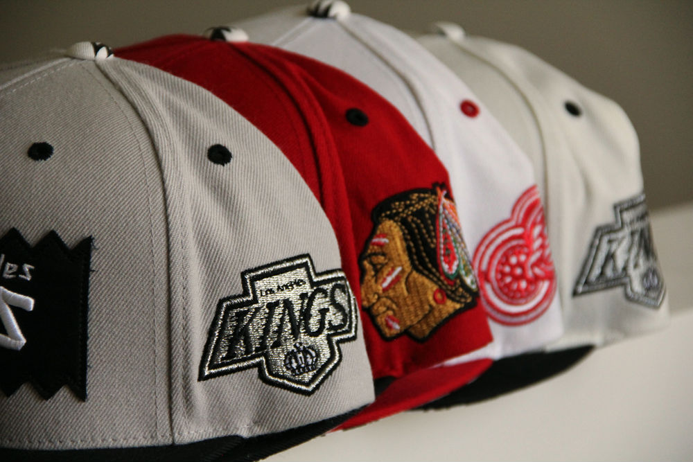 BAIT x Mitchell & Ness x NHL Snapback Collection (7)