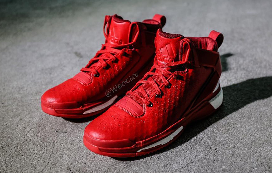c5897873ca4 Of Course There s a Red adidas D Rose 6
