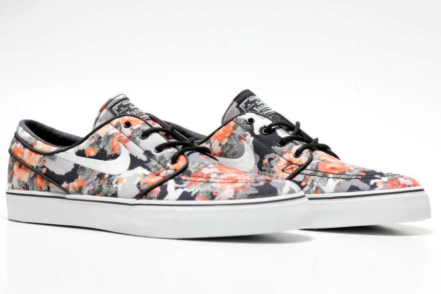 Nike Janoski Floral Orange