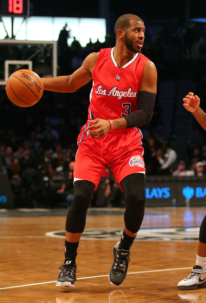 26432b868be SoleWatch: Chris Paul Wears the 'BHM' Jordan CP3.VIII | Sole Collector