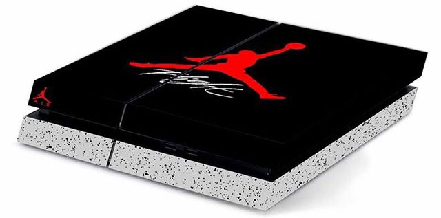 Playstation 4 Air Jordan 4 Box Skin