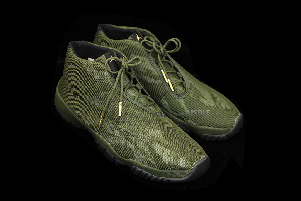Air Jordan Future - Green Tiger Camo (2)