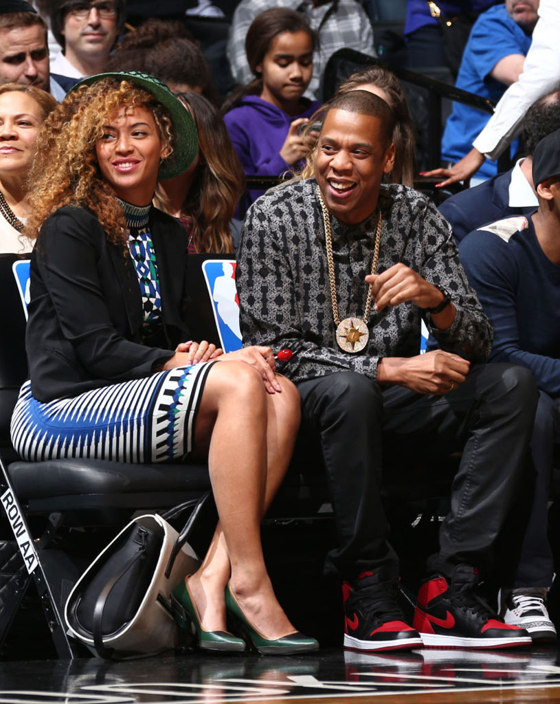 Jay Z Wears 'Bred' Air Jordan 1 (4)