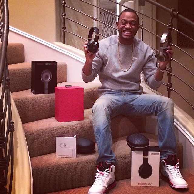 Terrence J wearing Air Jordan V 5 Fire Red