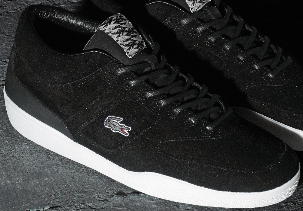 Footpatrol x Lacoste Halfcourt Black/White