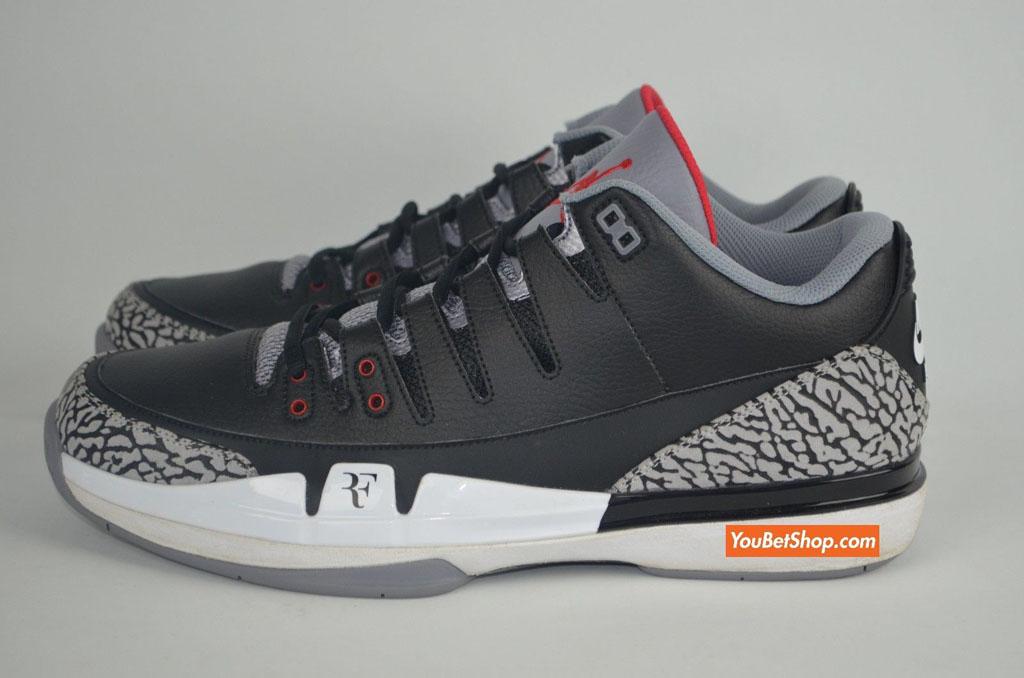 58d6abf8251e Roger Federer s Nike Zoom Vapor AJ 3 PE Is a Little Different