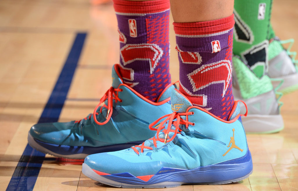 Blake Griffin wearing Jordan Super.Fly 2 All-Star