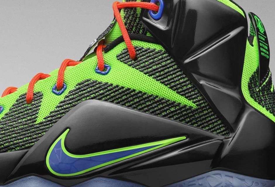 15bf1353c58 A Popular Video Game Console Inspired This Nike LeBron 12 for Kids ...