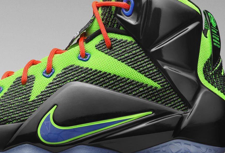 buy popular c142d 57a38 Nike LeBron XII 12 GS Gamer 685181-009 (2)