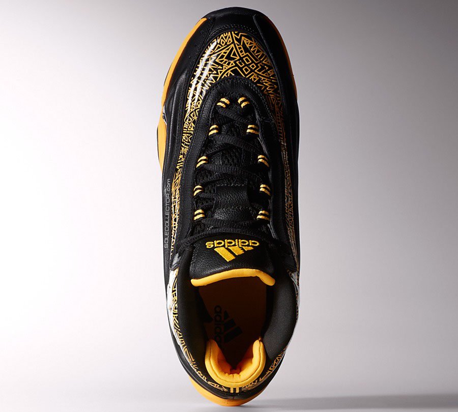 adidas Crazy 2 II KB8 Black/Yellow (2)