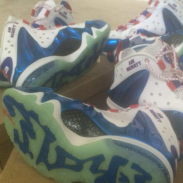 Nelly x Nike Barkley Posite Max Air Derrty