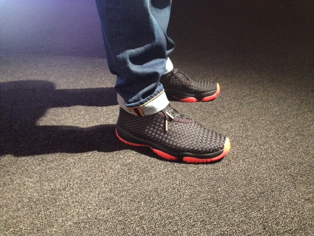Jordan Future - Black/Red