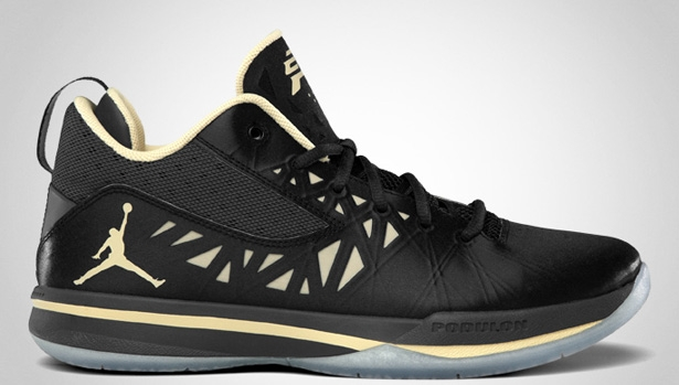 Jordan CP3.V Black/Vegas Gold-Anthracite