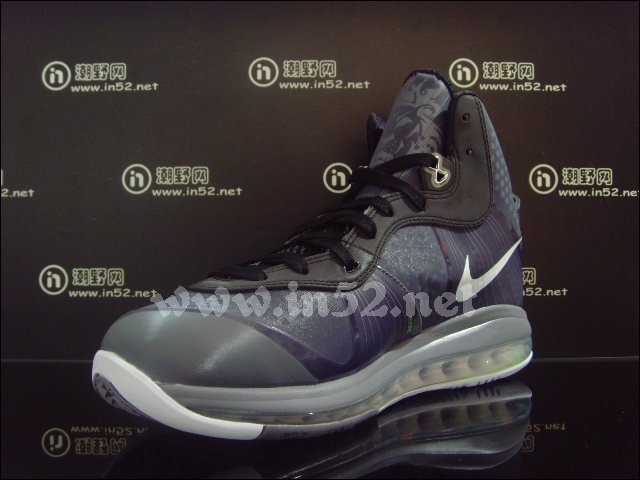 Nike Air Max LeBron 8 V/2 Grey Black Neon 429676-002