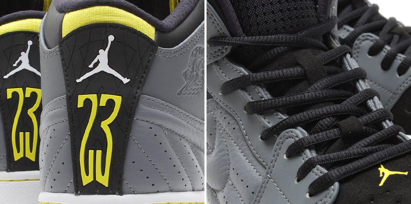 Air Jordan I 1 Retro '99 Cool Grey/Vibrant Yellow-Black-White 654140-032 (10)