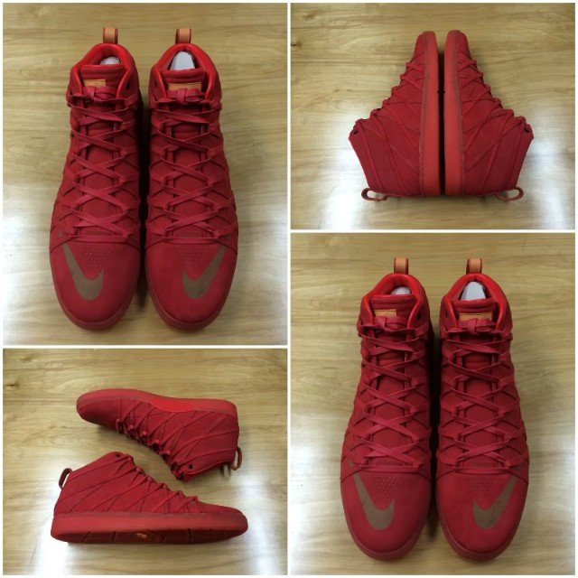 half off fbba3 9fb62 Nike KD 7 Lifestyle in, You Guessed It, All-Red | Sole Collector