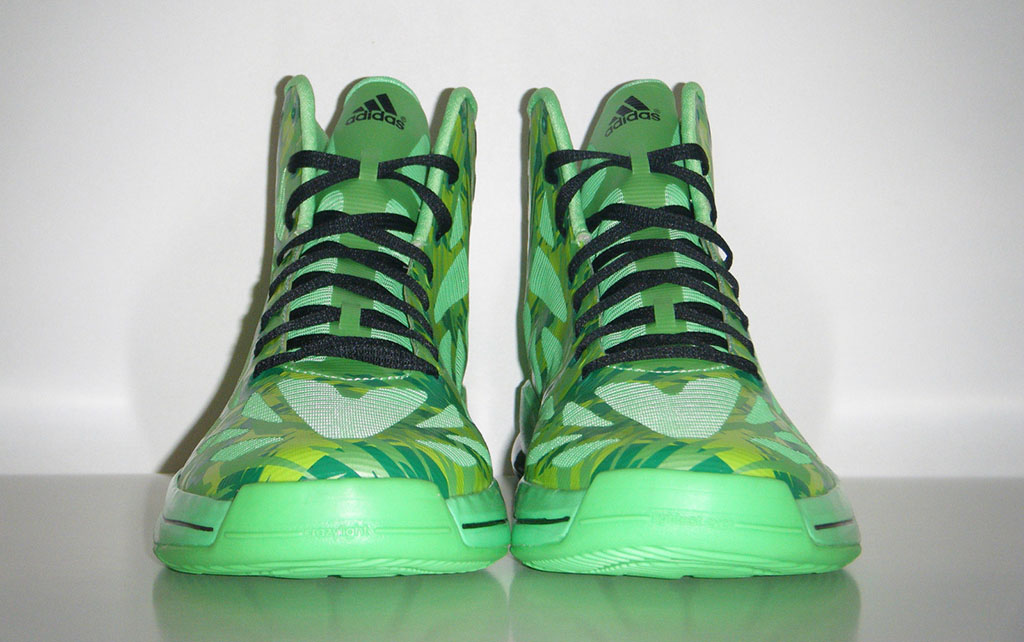 adidas adiZero Crazy Light 2 Neon Green Camo (3)