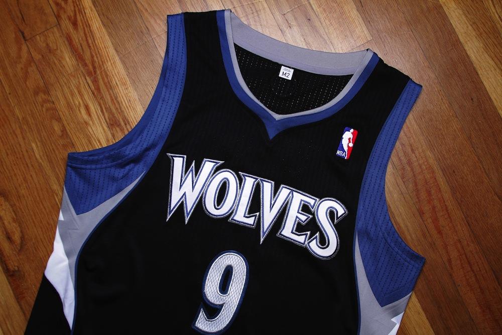 brand new a75d3 6ae47 Jersey Spotlight // Ricky Rubio Minnesota Timberwolves REV30 ...