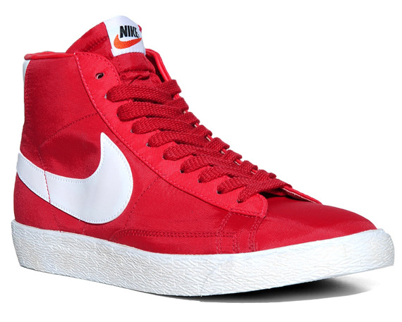 1a517bd772 The Nike Blazer Hi VNTG Nylon drops this January, and is available for  pre-order now at End Clothing.