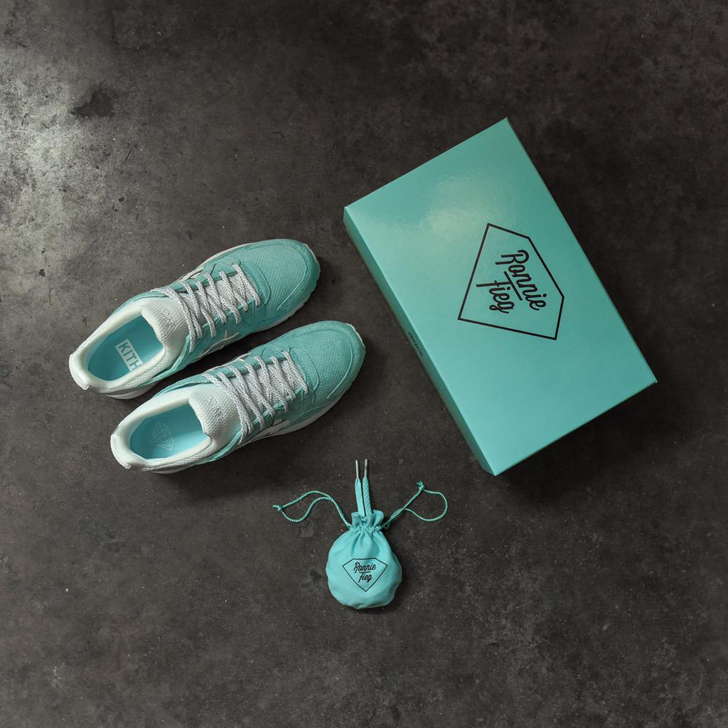 Ronnie Fieg x Diamond Supply x Asics Tiffany Pack Release Date Packaging