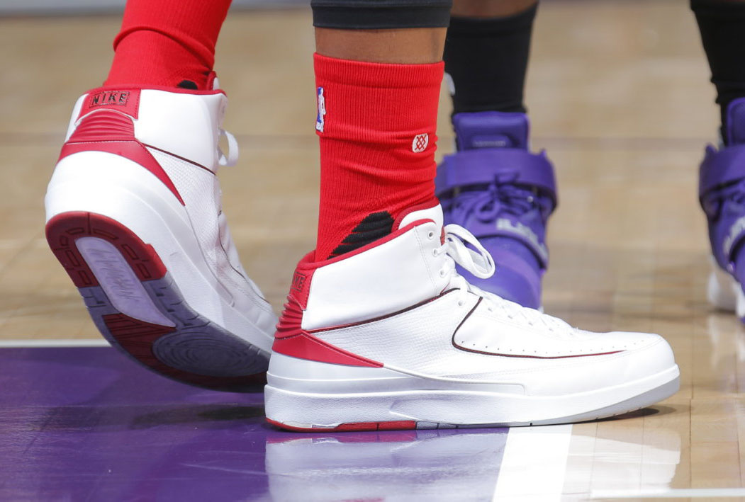 new concept 63fda db4e2 SoleWatch: DeMarcus Cousins Goes Full Retro in the Air ...