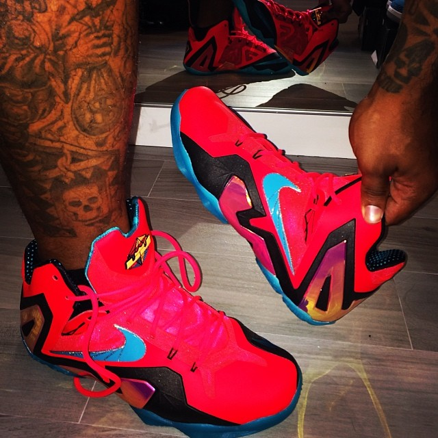 Nike LeBron 11 Elite Crimson 642846-600